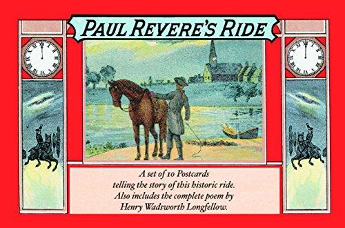 Paul Revere's Ride (Old-Fashioned Postcard Books)