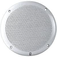 PolyPlanar 6 Dual Cone Integral Grill Speaker Pair White