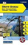 K&F Deutschland Outdoorkarte 53 Obere Donau 1 : 35 000: Baar - Donaueschingen - Tuttlingen - Sigmaringen (Kümmerly+Frey Outdoorkarten Deutschland)