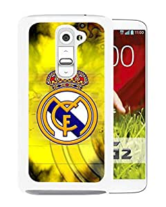 Beautiful And Fashional Designed Cover Case For LG G2 With Real Madrid White Phone Case 3