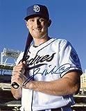 Signed Middlebrooks Photograph - W bat Deigo 8x10 W coa - Autographed MLB Photos