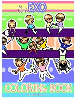 EXO A Day In EXOPLANET Coloring Book Amazon Books