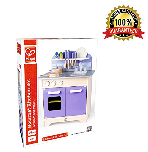 hape kitchen play set wooden play kitchen for boys and