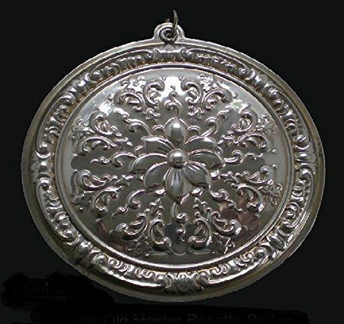 2002 Rosette Sterling Christmas Ornament Towle Old Master 1st Edition
