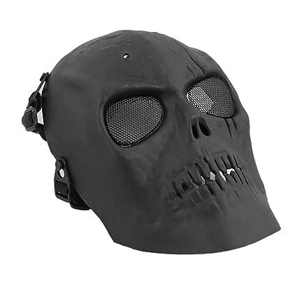 Delicacydex Skull Skeleton Mask Máscara CS Airsoft Paintball ...
