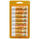 Sierra Bees, Organic Lip Balms, Honey, 8 Pack, .15 oz (4.25 g) Each(pack of 3)