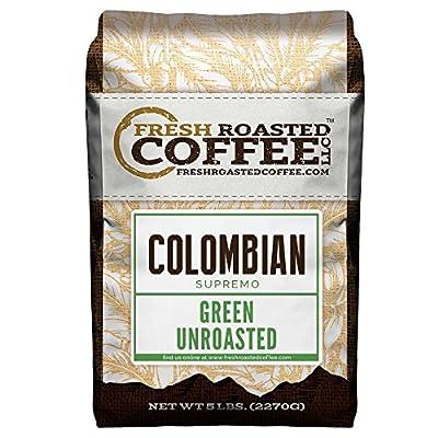 Green Unroasted Coffee, 5 Lb. Bag, Fresh Roasted Coffee LLC. from Fresh Roasted Coffee LLC.