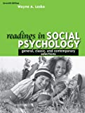 Readings in Social Psychology : General, Classicnd Contemporary Selections- (Value Pack W/MySearchLab), Lesko and Lesko, Wayne A., 0205677754