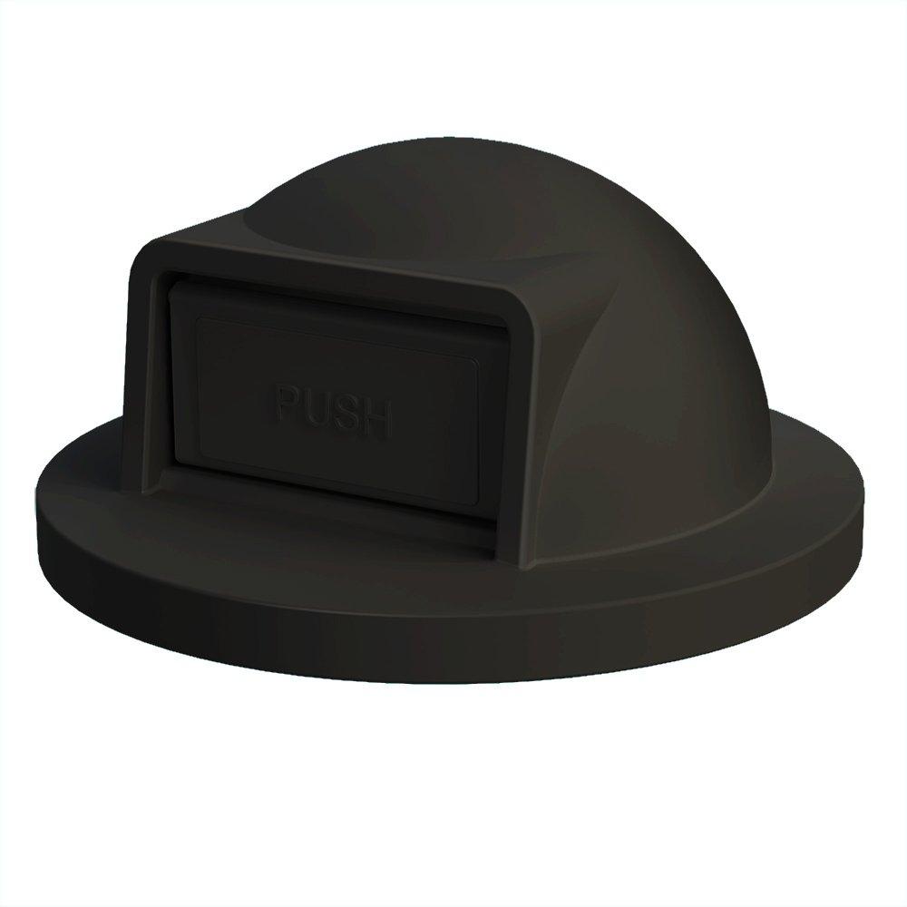 Dome Top For 55 Gallon Drum | Black