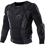Troy Lee Designs UPL7855 HW Long Sleeve Youth Boys Undergarment Off-Road Body Armor - Black/Large