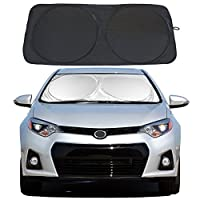 Windshield Sun Shade Car Window Shade UV Reflector Keeps Vehicle Cool Folding Sun Visor Heat and Sun Reflector