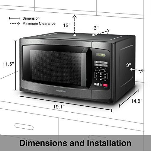 Toshiba EM925A5A-BS Microwave Oven image 5