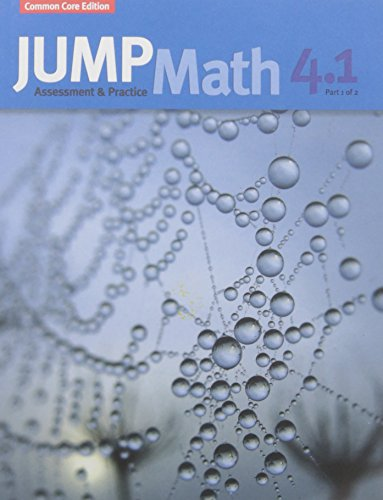 JUMP Math AP Book 4.1: US Common Core Edition
