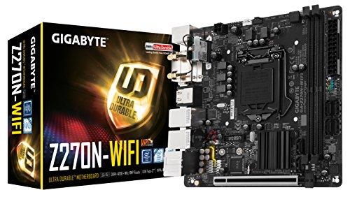 (GIGABYTE GA-Z270N-WIFI LGA1151 Intel Mini-ITX DDR4 Motherboard)