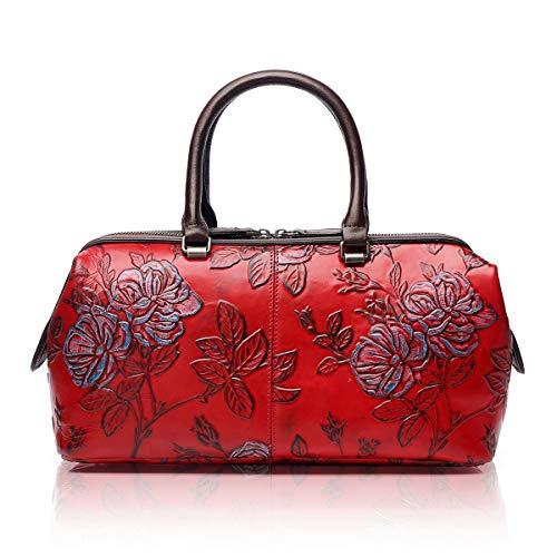 (APHISON Womens Handbags Ladies Purses Design Embossing Satchel Shoulder Bags Tote Bag 83300)
