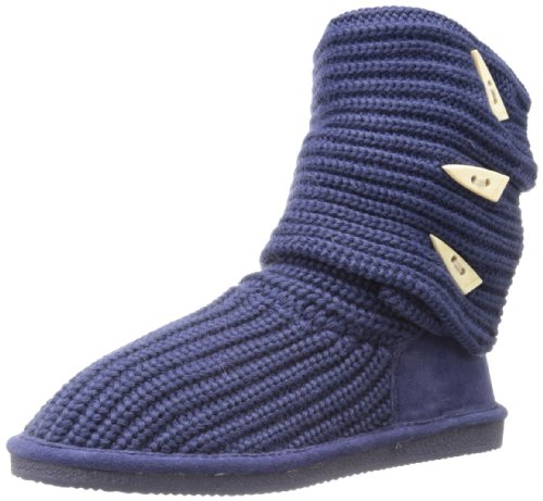 BEARPAW Womens Knit Tall Indigo