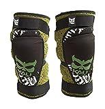 Kali Protectives Aazis Soft Knee Guard (Olive/Green, Medium)