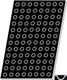 Flexipan, Mini Half-Sphere 0.20 Oz, 26mm Dia x 16mm Deep (1'' Dia x 9/16'' Deep) 96 Cavities