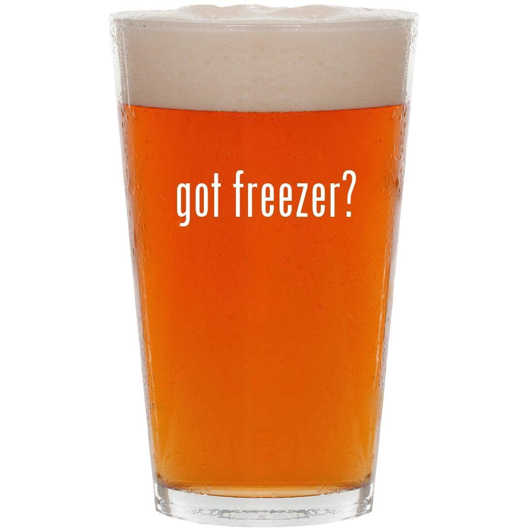 got freezer? - 16oz Pint Beer Glass
