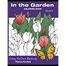 In the Garden: Coloring Book (Volume 2): Featuring Hand Drawn Illustrations