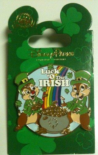 Disney Pin #88181: Luck 'O the Irish - Chip 'n -