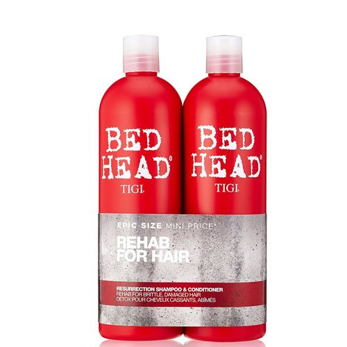 TIGI Bed Head Urban Antidotes 3 Resurrection Shampoo and Conditioner Tween Duo 2 x 750ml by TIGI 615908950977 P-T5-687-01