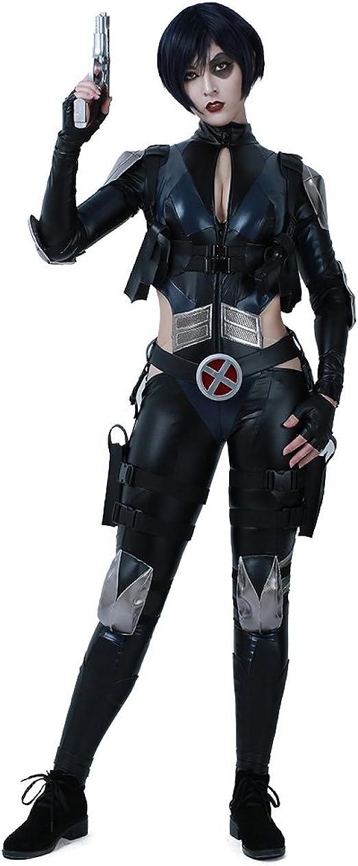 Miccostumes Domino - Disfraz de Cosplay con cinturón para Mujer ...