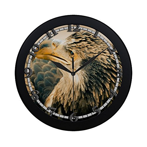 3 year old bald eagle USWCANM001 New Wall Clock Decorative Decor Home Office