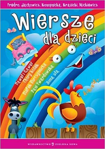 Wiersze Dla Dzieci Aleksander Fredro 9788378950899 Amazon