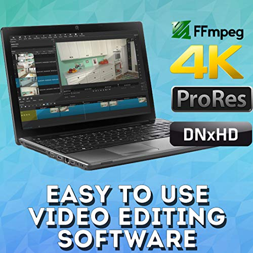 Video Editing Software Pack - Pro Editor Converter Screen Capture / Recorder Downloader & More {32Gb USB Storage} Windows PC & MAC