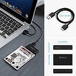ORICO-Adattatore-da-USB-30-a-SATA-III-per-SSD-e-HDD-25-Pollici-Cavo-USB-30-Integrato