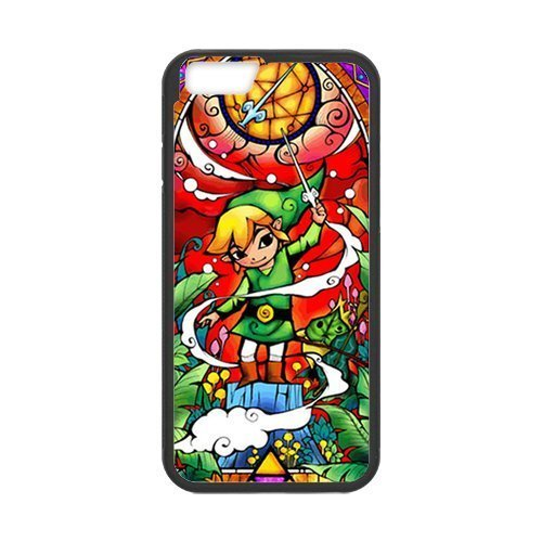 """iPhone 6 Case ,Case for Apple iPhone 6 ,The Legend of Zelda Wallet Case for iPhone 6,Case Cover Fit For Apple iPhone 6 4.7"""",PC and TPU Screen Protector For Apple iPhone 6 4.7"""""""