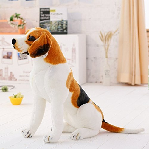 Nearly Natural Décor Realistic Stuffed Animals Beagle Dog...