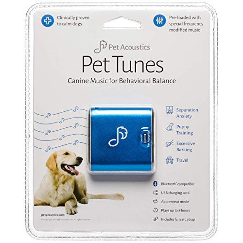 - Pet Tunes Bluetooth Speaker Preloaded with Calming Canine Music