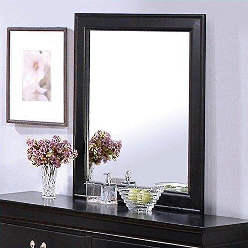 Coaster 201074 Traditional Mirror, - Cappuccino Mirror Dresser