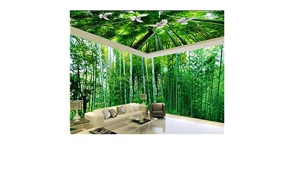 Mtisrx Fondo de pantalla Fondo de pantalla 3D Paisaje de bambú ...