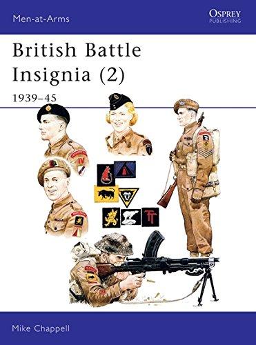 British Battle Insignia (2): 1939–45 (Men-at-Arms) (Bk.2)