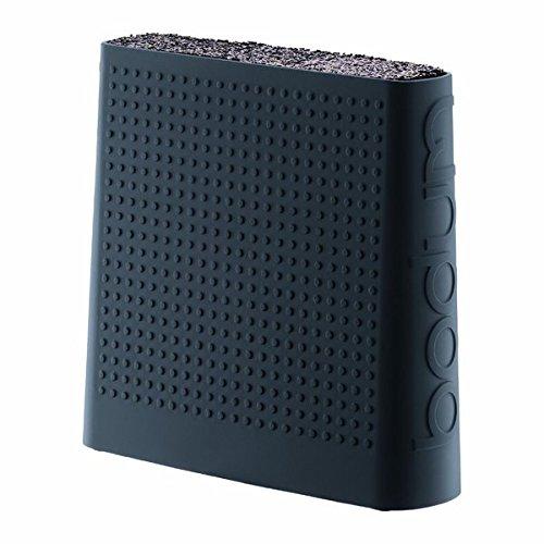 Bodum 11089-01US Bistro Black Universal Knife Block, 2.6 x 8.9 x 8.5 inches