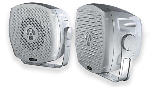 Fusion MS-BX402 Altavoces para Ná utica, Unisex Adulto, Blanco, Talla Ú nica Talla Única