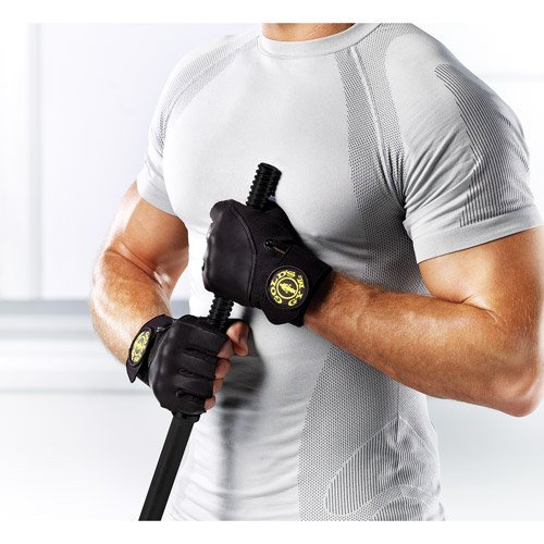 Gold's Gym Weight Lifting Wrist-Wrap Gloves - All Sizes Protect Your Hands! by Golds Gym by Golds Gym