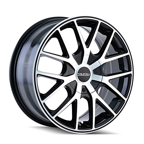 "Touren TR60 3260 Black Wheel with Machined Face (18x8""/5x..."