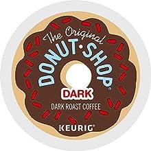 The Original Donut Shop Dark, Single-Serve Keurig K-Cup Pods, Dark Roast Coffee, 96 Count