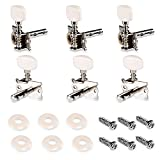 String Tuning Peg Tuner Machine Head for Acoustic Guitar 6PCS