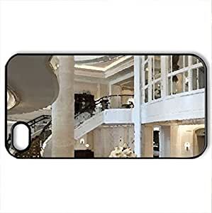 Beautiful Interior - Case Cover for iPhone 4 and 4s (Modern Series, Watercolor style, Black)