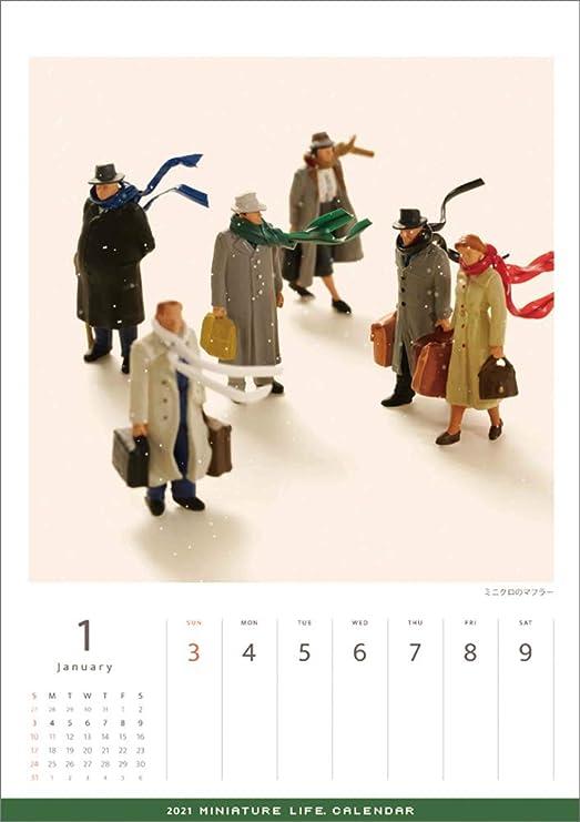 Images of Miniature Life Calendar 2021
