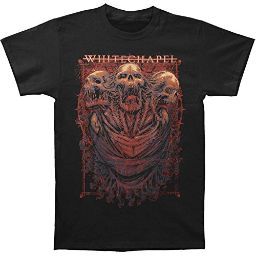 Whitechapel Men's Three Skulls T-shirt X-Large Black