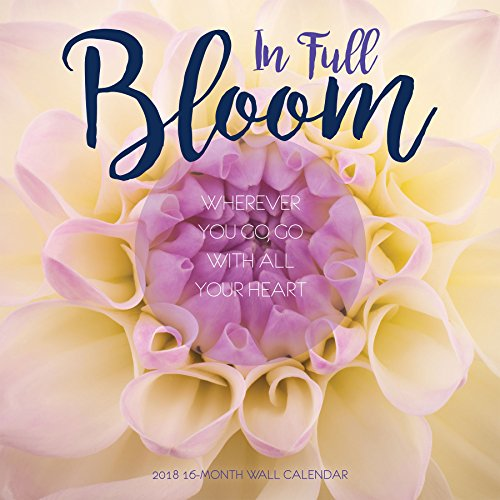 Avalon 2018 In Full Bloom Wall Calendar, 16 Month Calendar, 12 x 12 inches (83018)