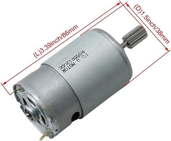 Moteur /électrique R/ésistant Maximum De Course Dascenseur De Moteur De Cc 12V 140Kg Pour La Voiture Automatique M/édicale Tor 50MM