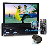 pkg Soundstream CIn-Dash 1-DIN 7 LCD Screen DVD, CD/MP3, AM/FM Receiver with Bluetooth 4.0 & SiriusXM Ready and XO Vision HTC36 Backup Camera with Nightvision