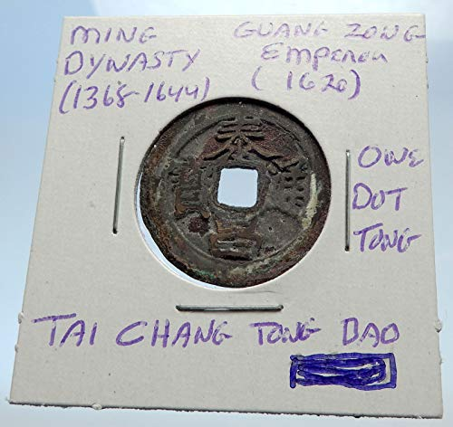 - 1000 unknown 1620AD CHINESE Ming Dynasty Antique Cash Coin of coin Good